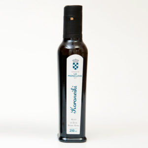 Aceite oliva virgen extra variedad koroneiki 250 ml