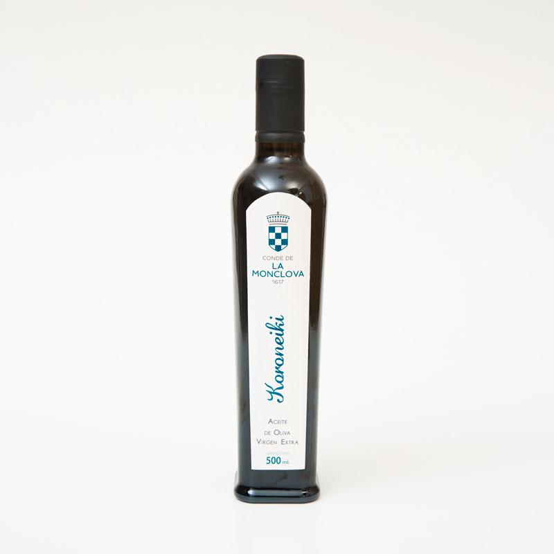Aceite oliva virgen extra variedad koroneiki 500 ml