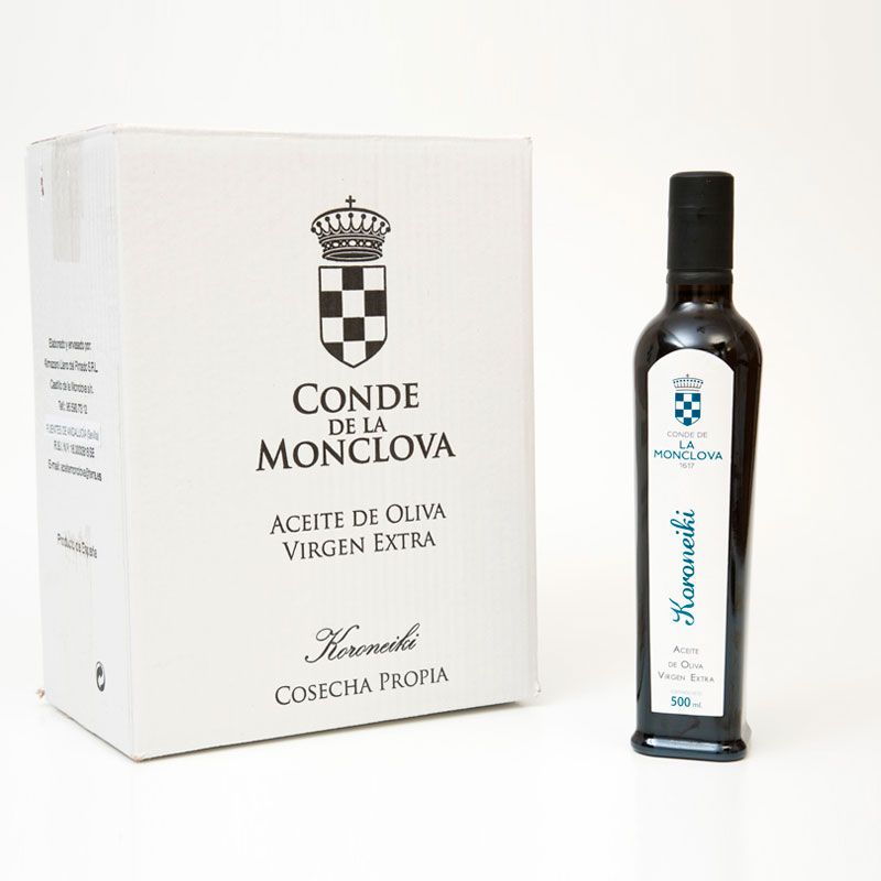 Aceite oliva virgen koroneiki caja